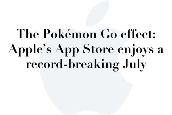 app store record july
