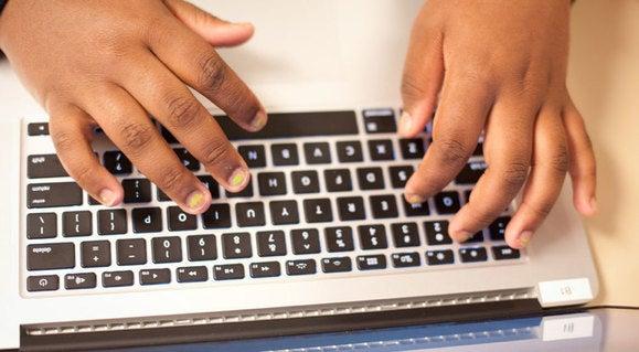 appcamp4girls hands keyboard