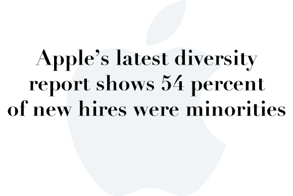apple diversity report