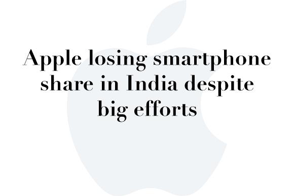 apple india smartphone share