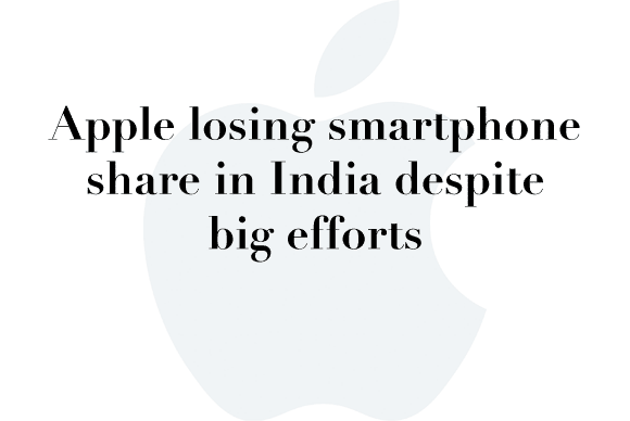 apple india smartphone share