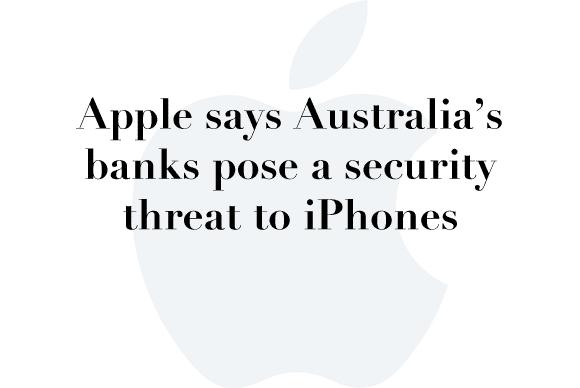 australia iphone security