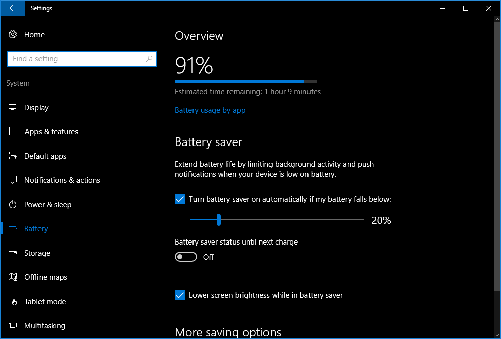 How to use Windows 10's Battery Saver mode | PCWorld