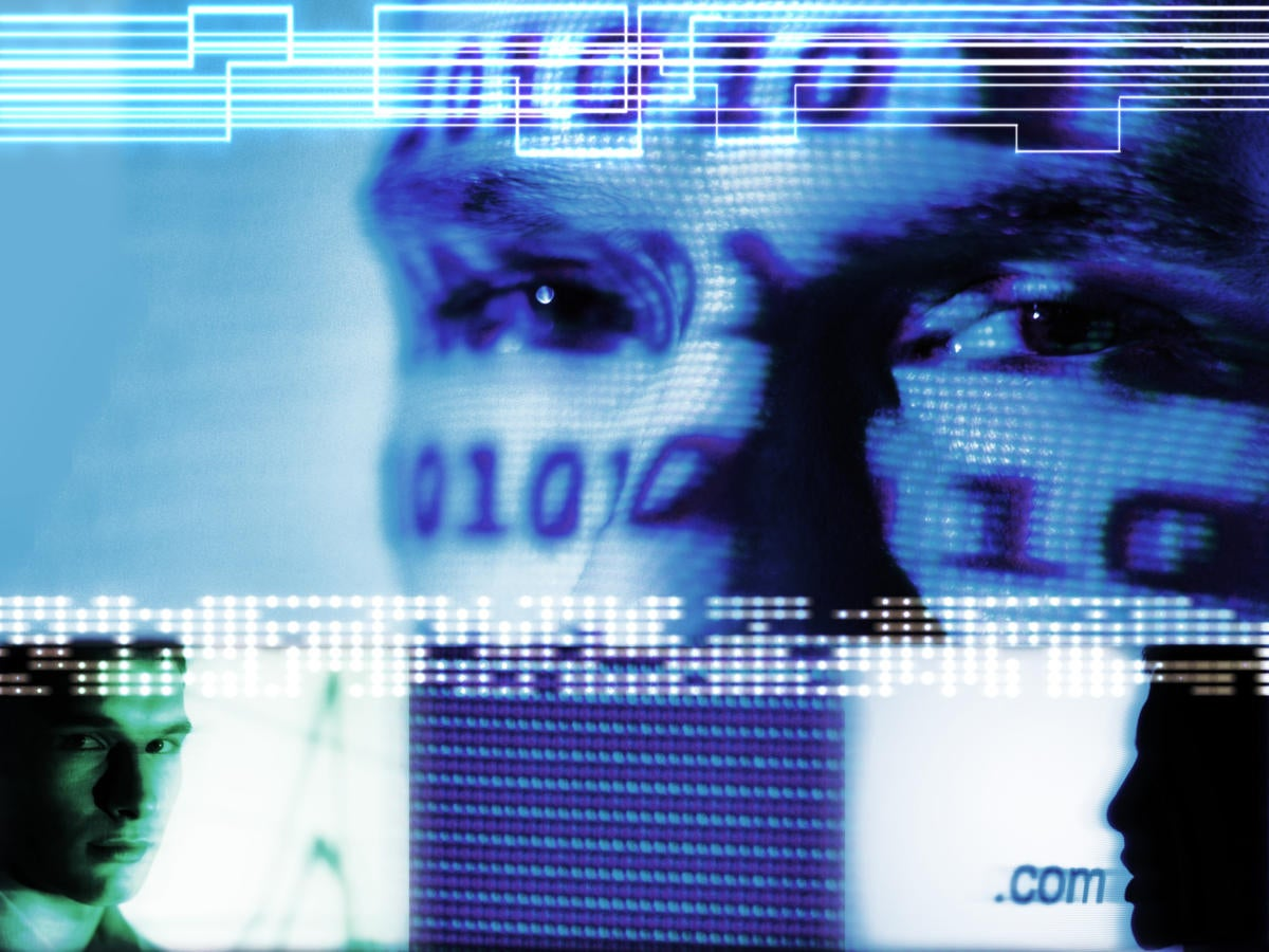 binary monitor tech digital moody hacker threat