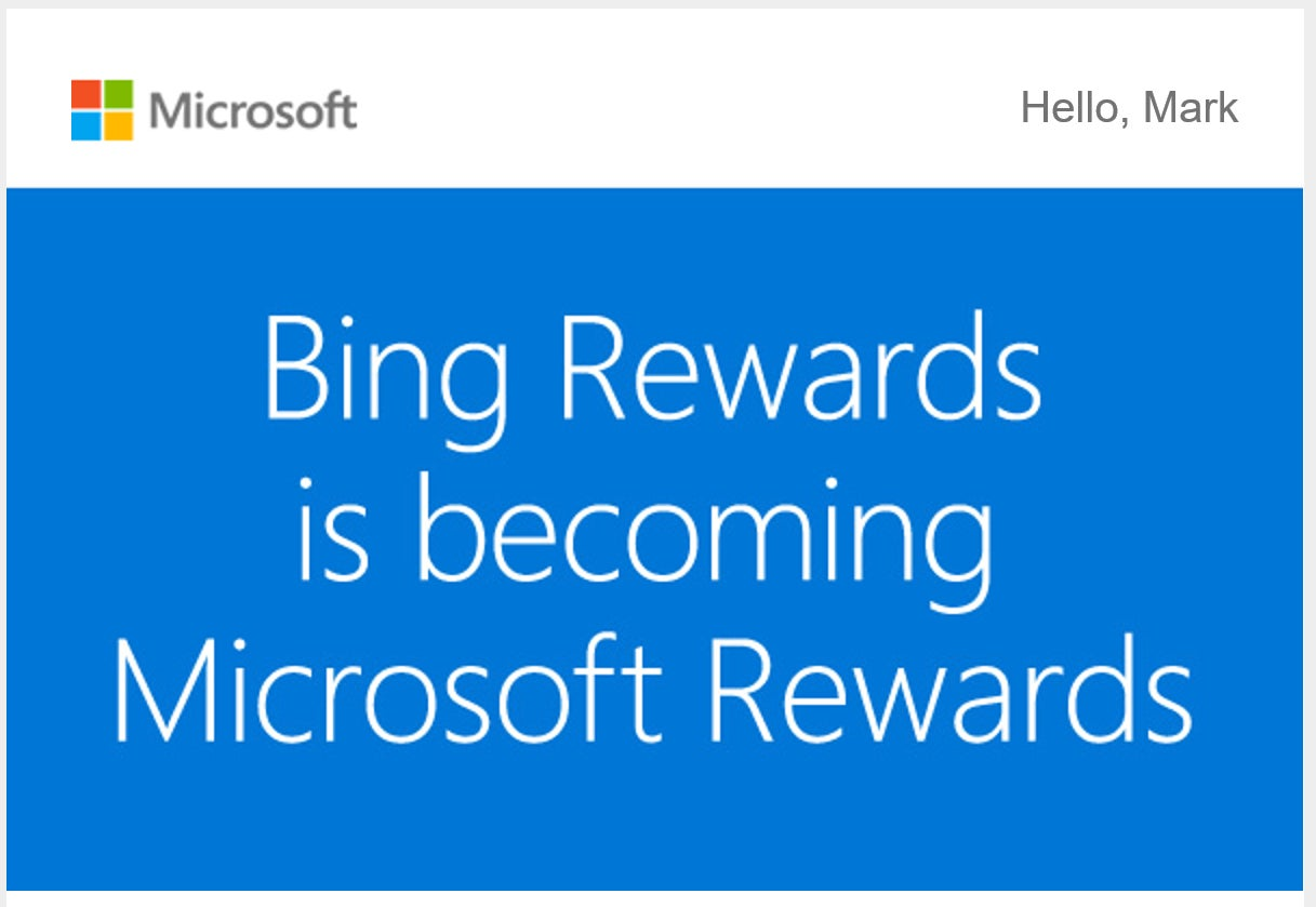 Microsoft Rewards is how Microsoft will pay you to use Edge, Bing and more
