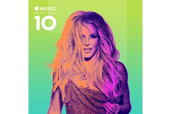 britney spears apple music festival