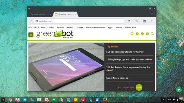 chromebook android apps firefox