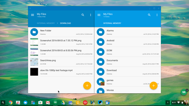 chromebook android apps solid explorer