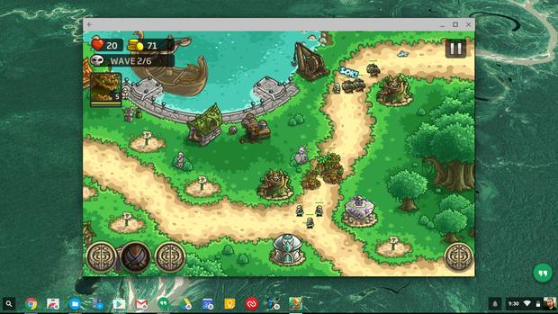 chromebook games kingdom rush