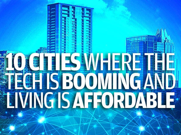 cities where tech is booming
