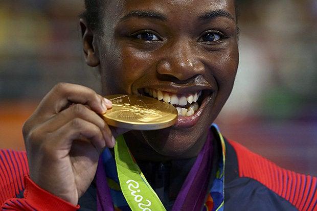 claressa shields olympics gold