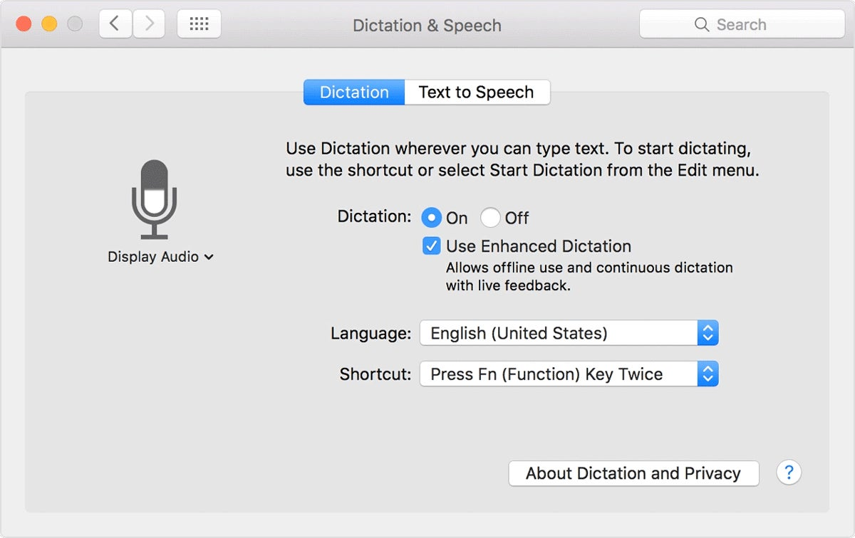 How to use dictation on your mac macworld biocorpaavc Image collections