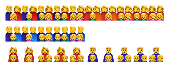 New Emoji Add Gender Parity And A More Realistic Drawing Style In