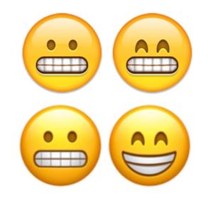 emoji ios10 grimace fixed