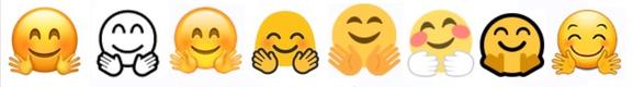 emoji ios10 hugging hands