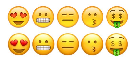 emoji ios10 smileys