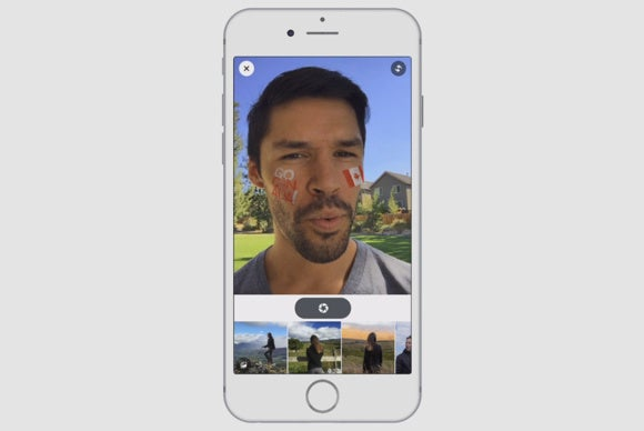 Facebook starts testing a Snapchat-style camera with MSQRD selfie filters | Macworld