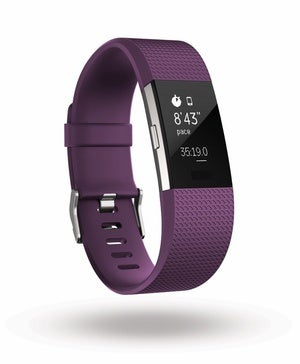 fitbit charge2 3qtr inexercise pace plum