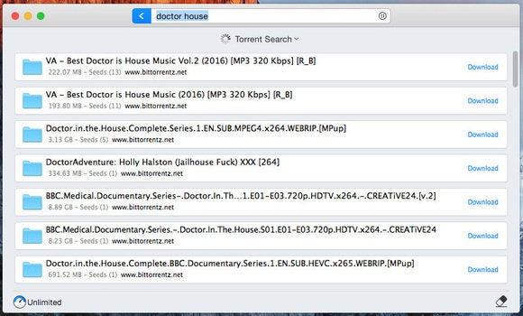 folx 5 torrent search
