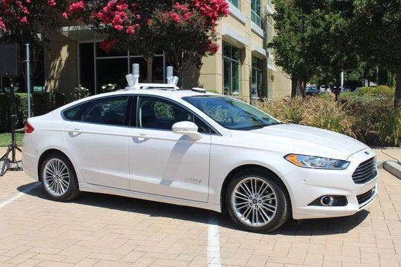 ford autonomous research vehicle self driving car aug 2016