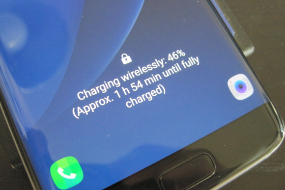Galaxy S Edge Wireless Charging