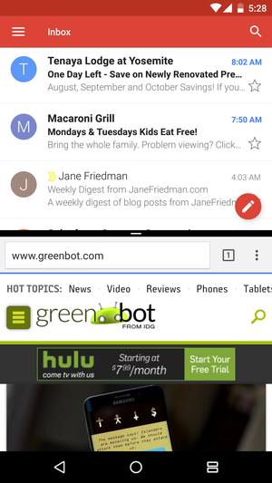 How to use split-screen mode in Android Nougat | Greenbot