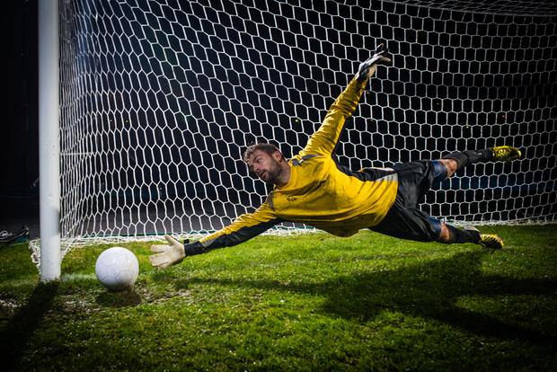 goal keeper stop stopping prevention