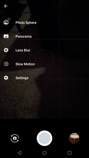 google camera photo types