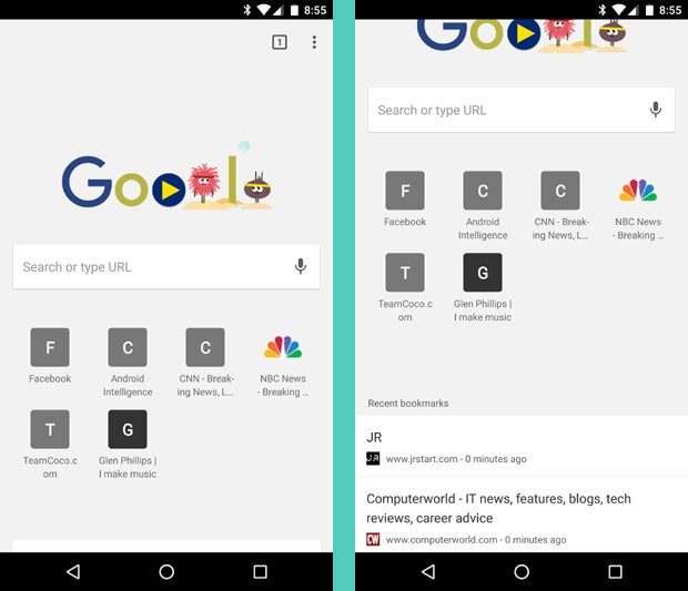 Now, this is how Google Now should work on the desktop ...
