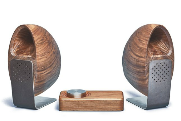 grovemade wood speakers