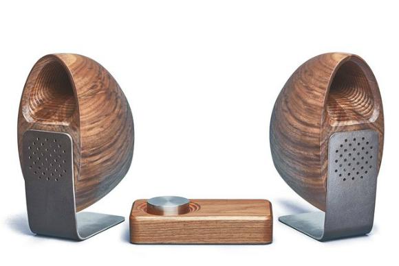 grovemade wood speakers