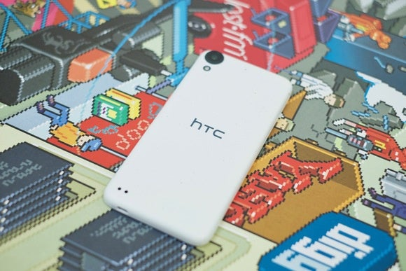 htc desire 530 back of device