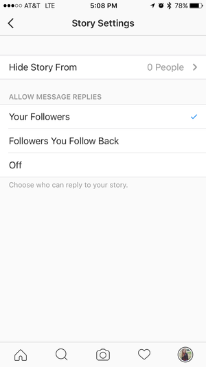 instagram stories followers