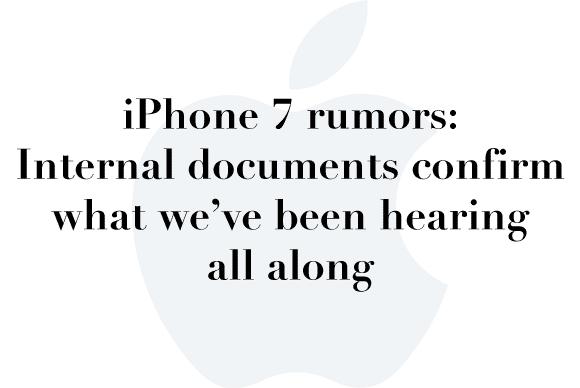 iphone 7 rumors yet again