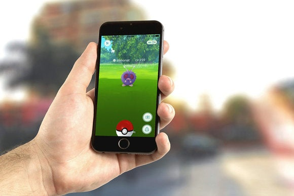iphone pokemon go