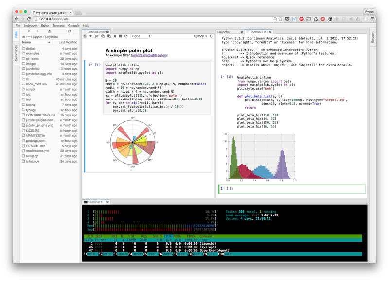 Data notebook for Python, R gets reworked for the web