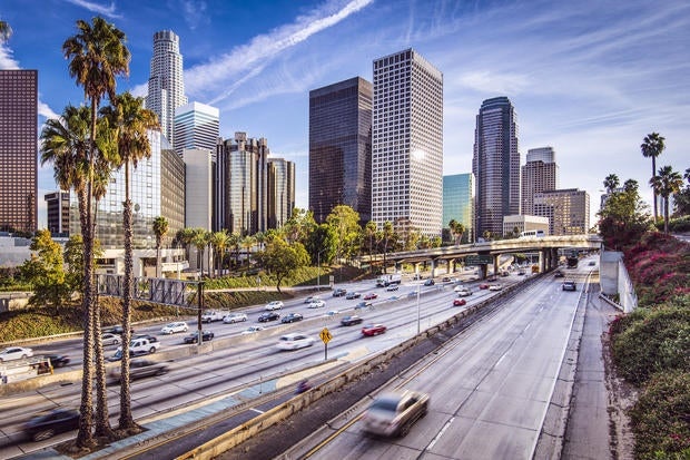 la los angeles highway city