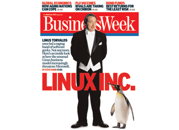 Linus Torvalds Linux Businessweek
