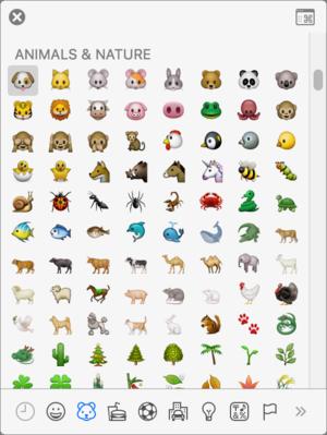 mac911 emoji palette