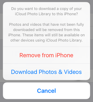 mac911 remove photos turn off icloud