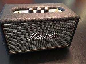 The Marshall Kilburn Bluetooth Wireless Speaker.