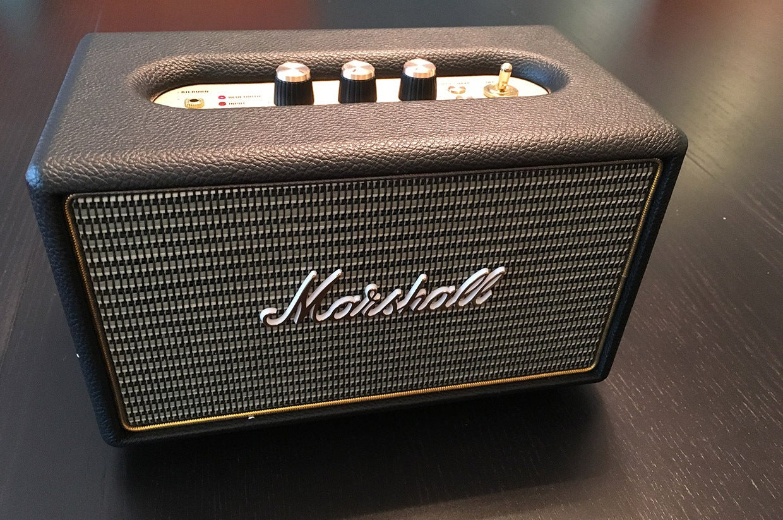 Marshall Kilburn Bluetooth Speaker Review Vintage Style Retro Sonic Gear Quatro 2 Portable 20 Sound Techhive