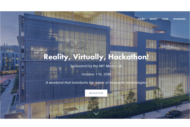 MIT Media Lab sponsors hackathon pushing limits of VR and AR