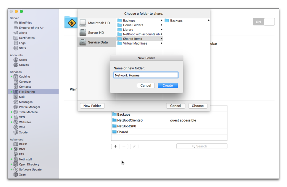 Setting up NetBoot with Network Home Folders | Macworld