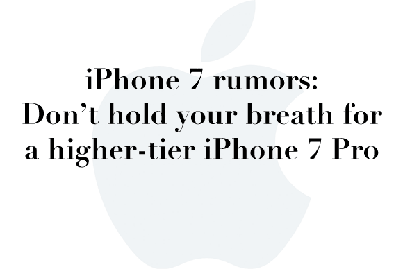 no iphone 7 pro