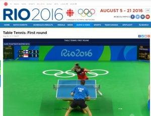 olympics cbc table tennis