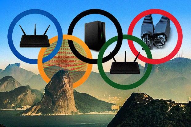 olympics rio tech