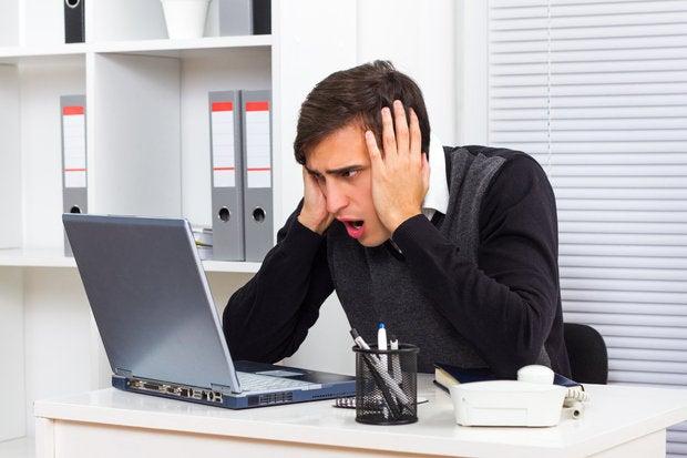 omg laptop computer crash wtf
