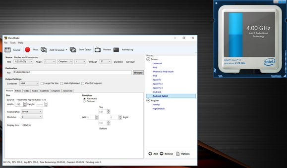 Asus ROG G752VS-XB72K Overclocking