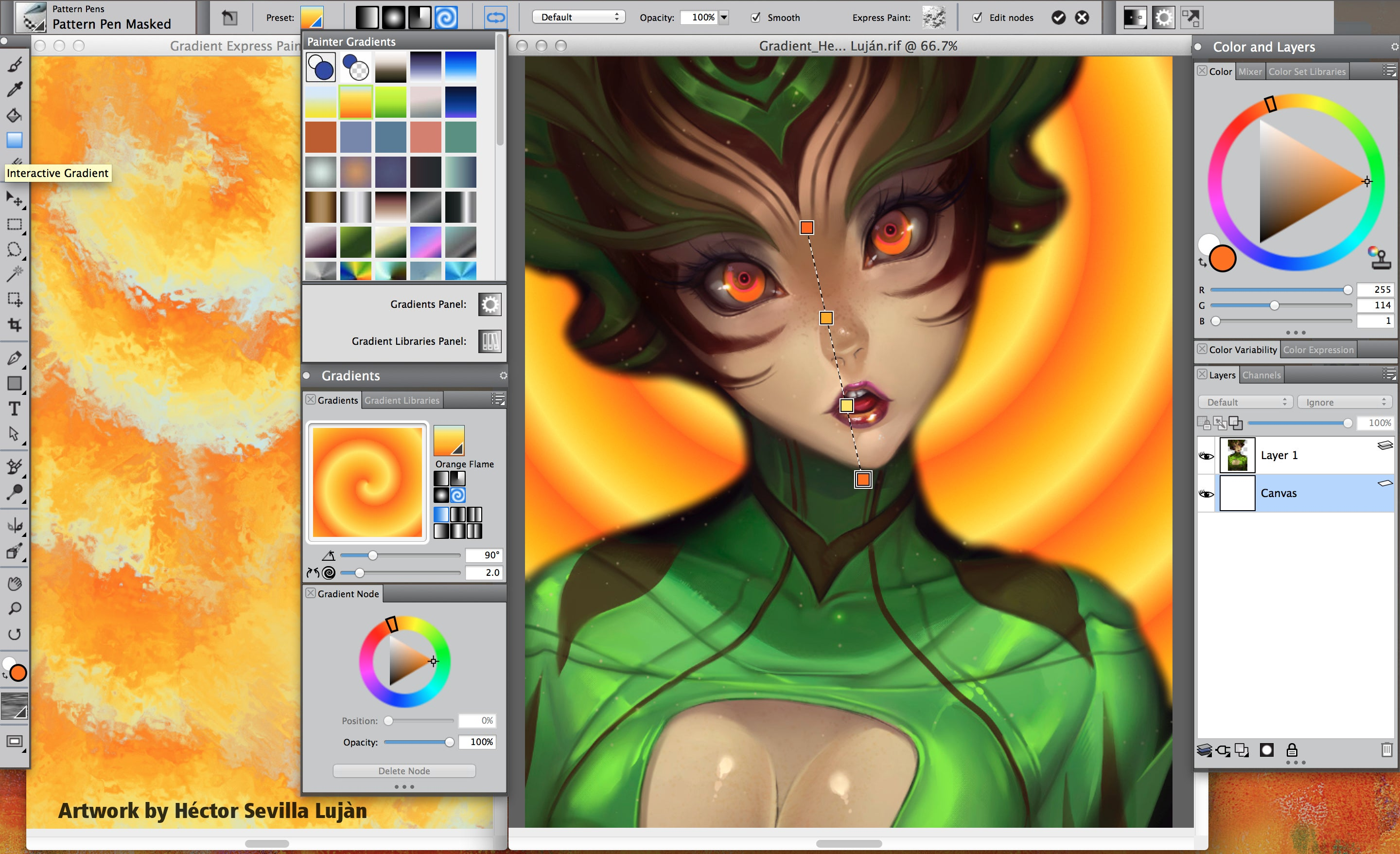 Corel Painter 2017 Adds New Brushes Gradient Tools And